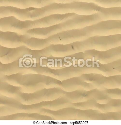 areia, vetorial, texture. - csp5653997