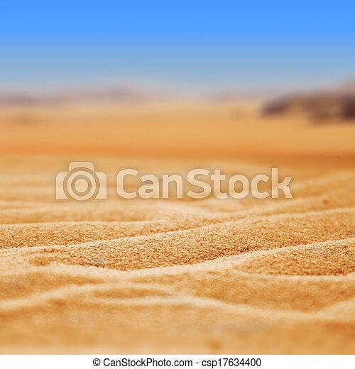 desierto de arena - csp17634400
