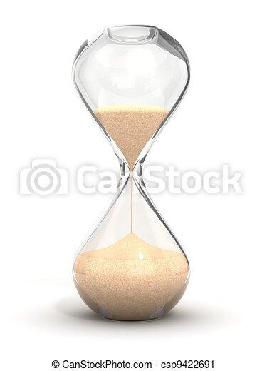 Un reloj de arena, un reloj de arena - csp9422691