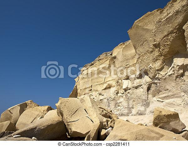 erosión de arenisca - csp2281411