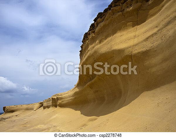 erosión de arenisca - csp2278748
