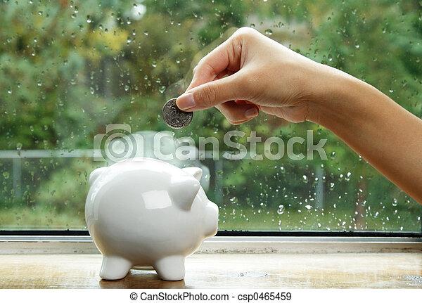 argent, économie - csp0465459