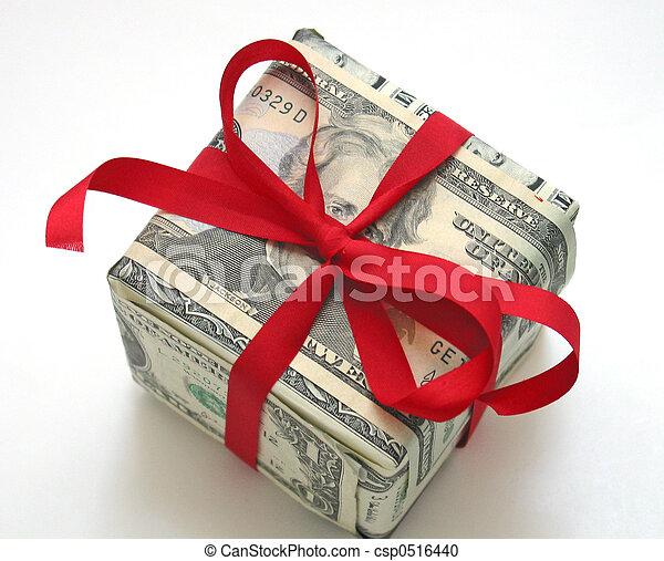 argent, cadeau - csp0516440