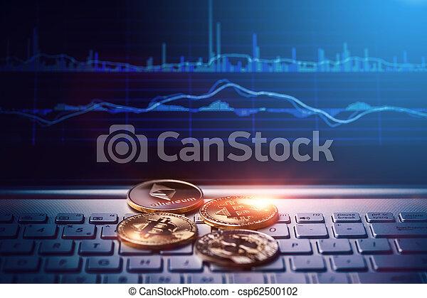 argent, concept, numérique - csp62500102