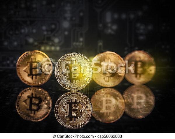 argent, concept, virtuel - csp56062883