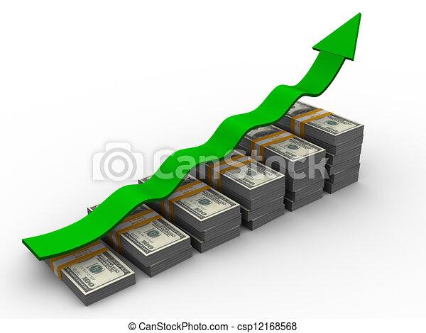 argent, croissance - csp12168568