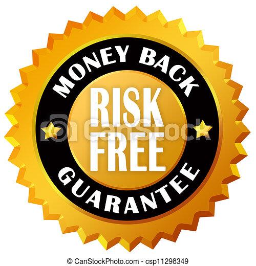 argent, dos, garantie - csp11298349