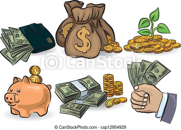 argent, ensemble - csp12954929