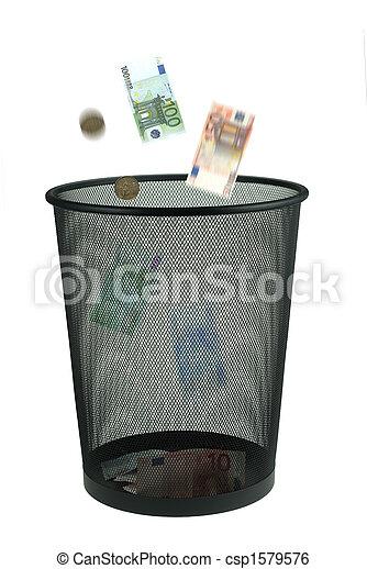 argent, loin, jeter - csp1579576