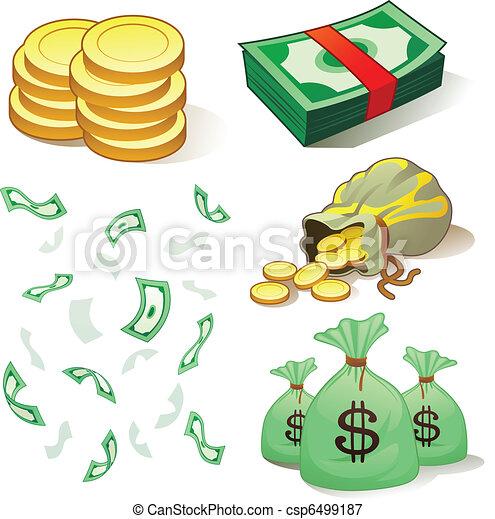 argent, pièces - csp6499187