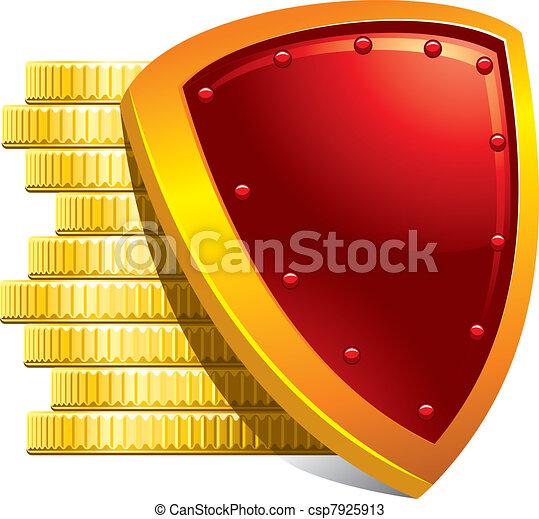 argent, protection, paiements - csp7925913