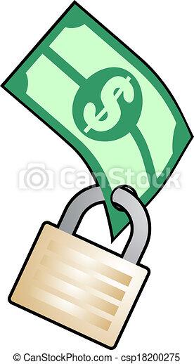 argent, sûr - csp18200275