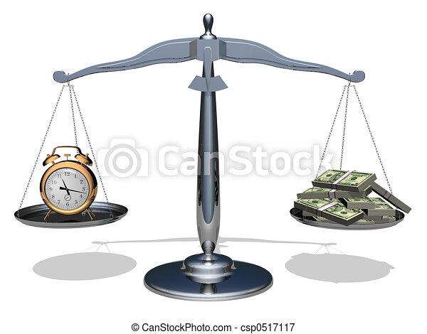 argent, temps - csp0517117