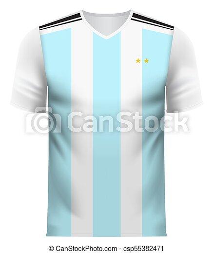 buy popular e6c34 4d419 Argentina generic national colors team apparel