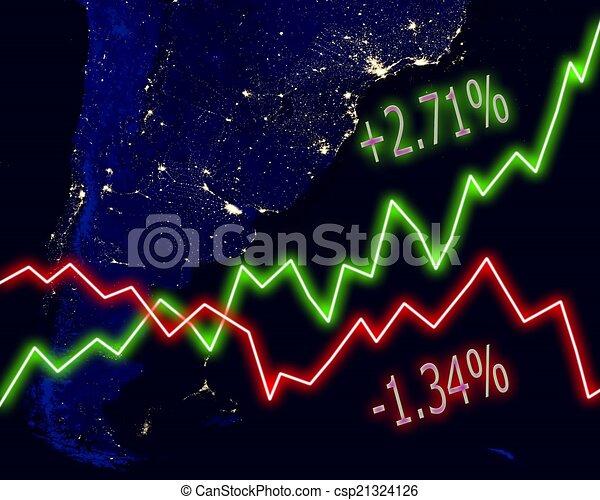 Chart S Diagram Icon Stock Market Transpa Png