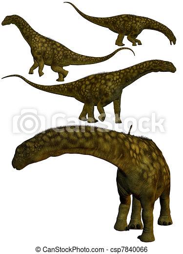 Argentinosaurus. - csp7840066