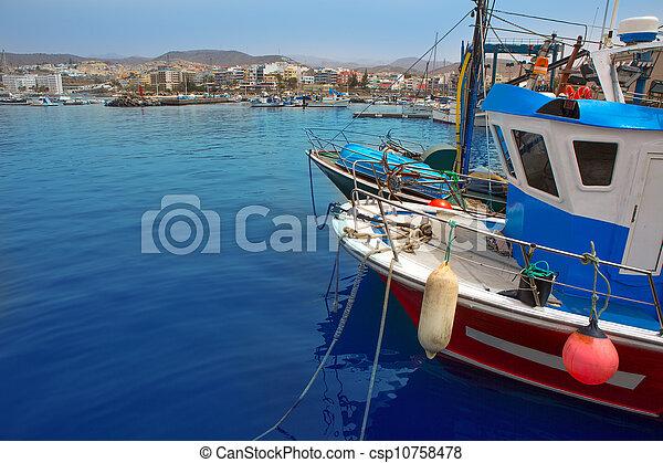 Arguineguin Puerto in Mogan Gran Canaria - csp10758478