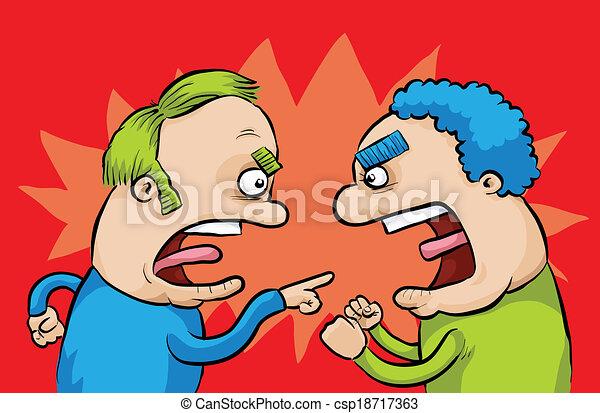 Arguing Men - csp18717363