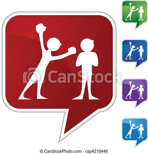 Arguing People - csp4218446