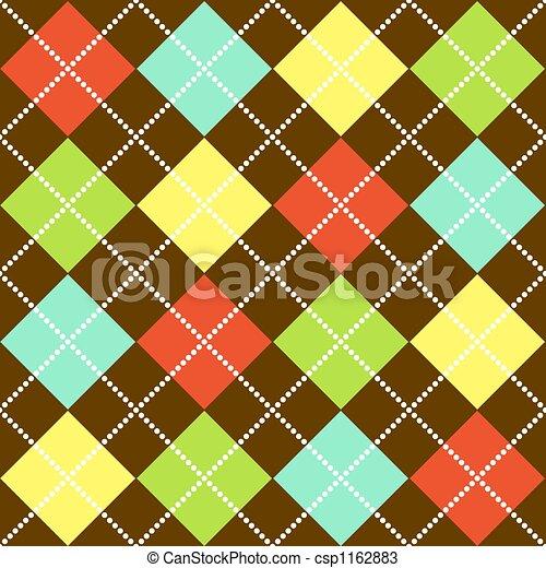 Argyle Pattern - csp1162883