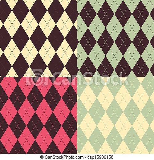 Argyle patterns - csp15906158