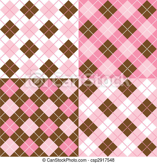 Argyle Patterns - csp2917548