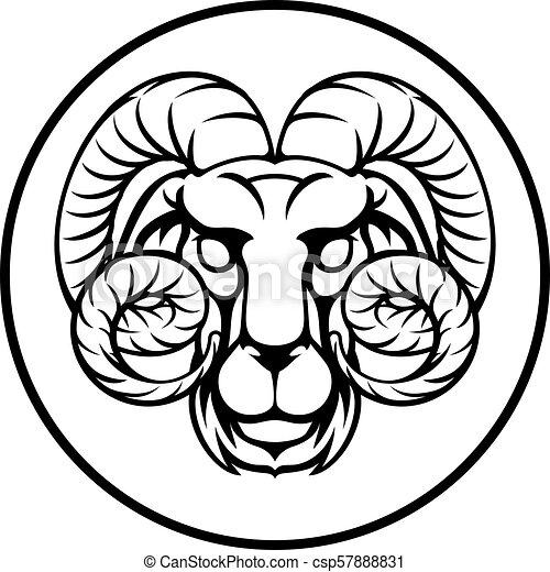 9d6e338b2 Aries horoscope birth sign. Aries ram horoscope astrology zodiac ...