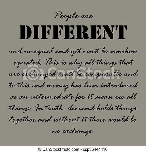 Aristotle Quotes People Are Different And People Are Different