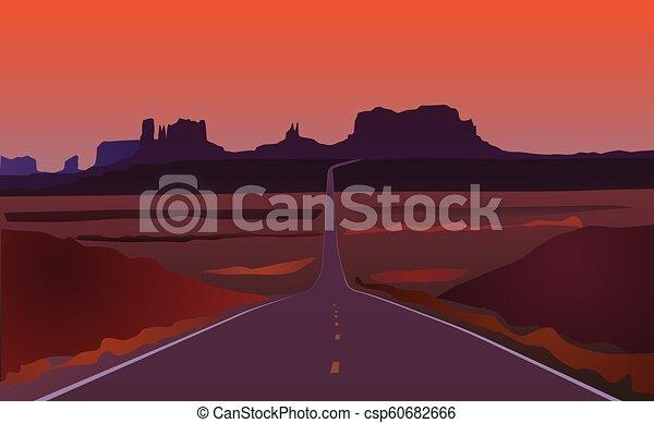 El paisaje de Arizona - csp60682666