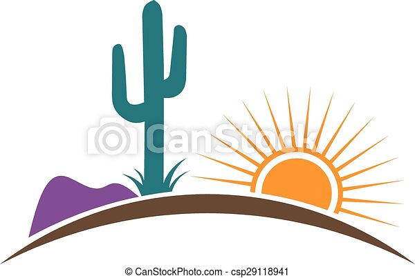 arizona desert logo eps vector search clip art illustration rh canstockphoto com dessert clipart images dessert clip art pictures