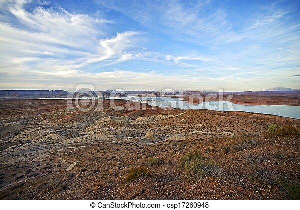 Arizona Lake Powell - csp17260948