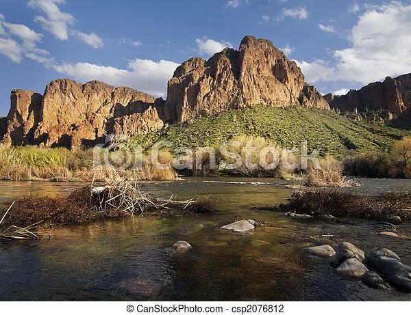 arizona, landscape - csp2076812