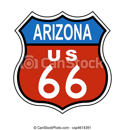 arizona route us 66 sign clipart search illustration drawings and rh canstockphoto com phoenix arizona clipart arizona clipart black and white