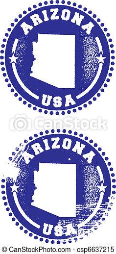 Arizona USA Stamps - csp6637215