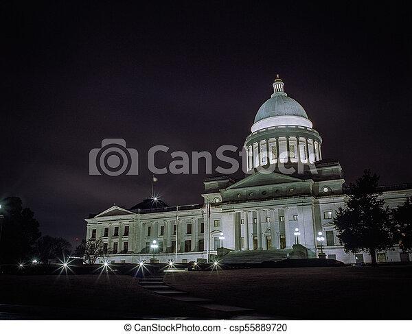 Arkansas Capitol Building - csp55889720
