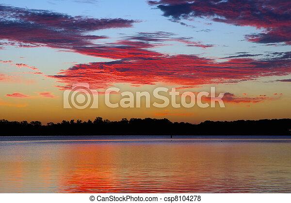 Arkansas River Sunrise - csp8104278