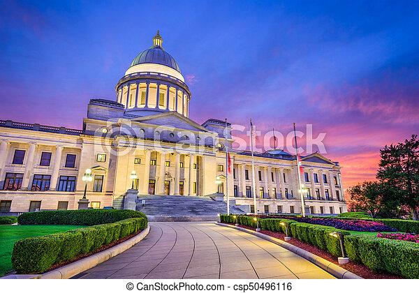 Arkansas State Capitol - csp50496116