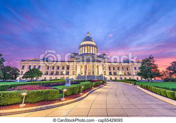 Arkansas State Capitol - csp55429093