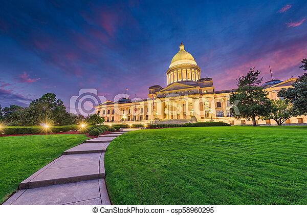 Arkansas State Capitol - csp58960295