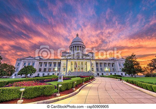 Arkansas State Capitol - csp50909905