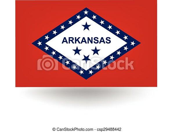 Arkansas State Flag - csp29488442