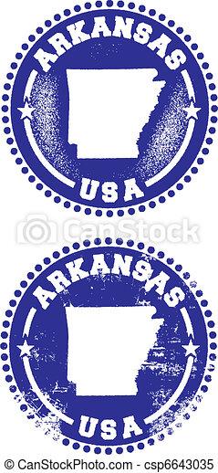 Arkansas USA Stamps - csp6643035