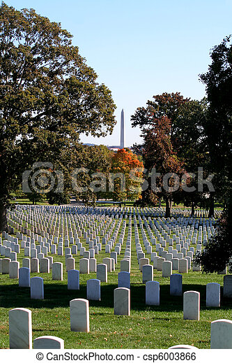 Arlington National Cemetery - csp6003866