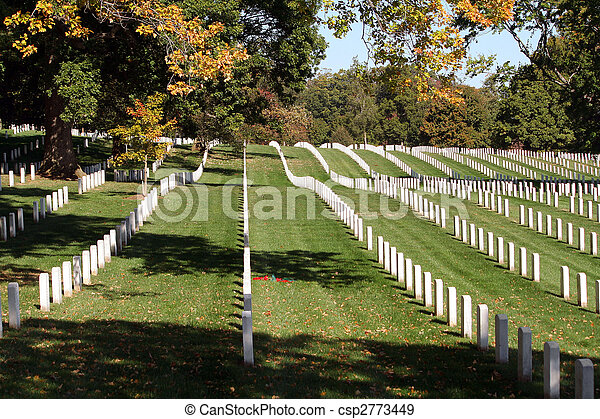 Arlington National Cemetery - csp2773449