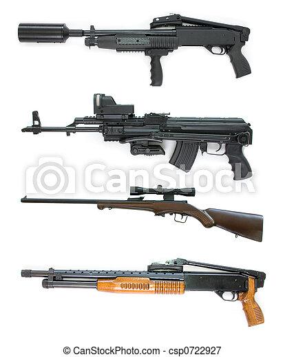 Una colección de armas - csp0722927