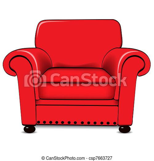 Armchair - csp7663727