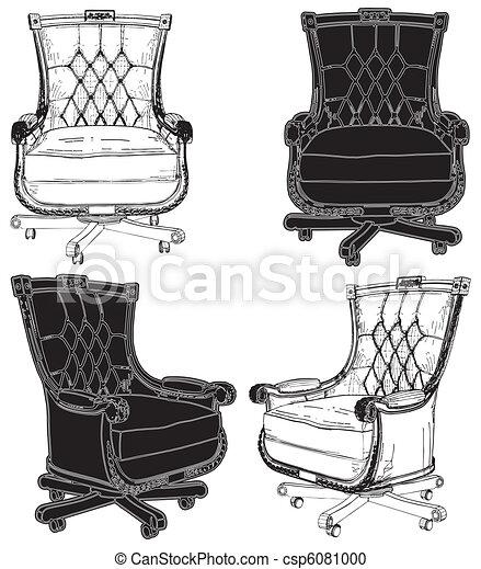 Armchair - csp6081000