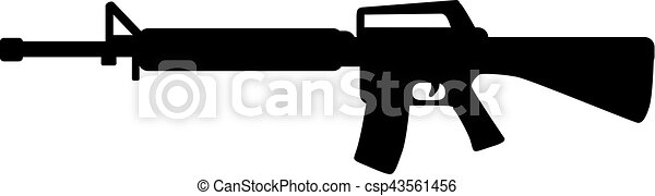 arme, tireur embusqué, fusil - csp43561456