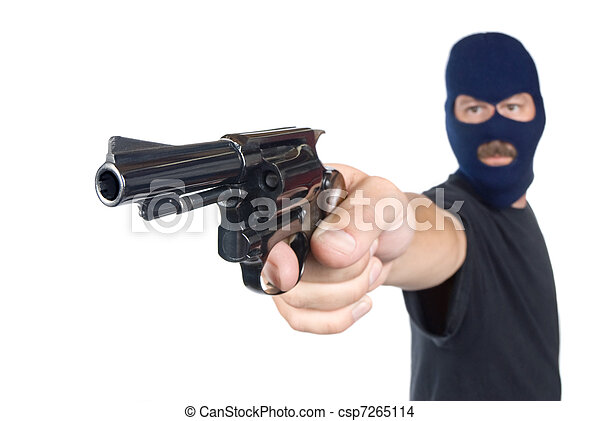 Armed robber - csp7265114