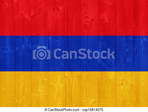 Armenia flag - csp15814075